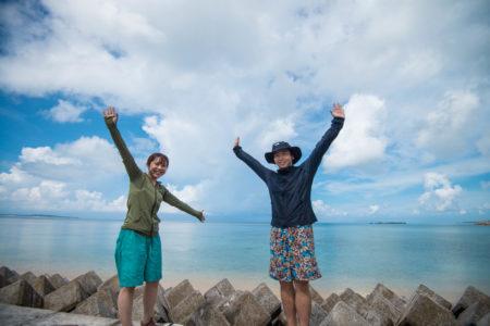 西表島バラス島ツアー、カップルで