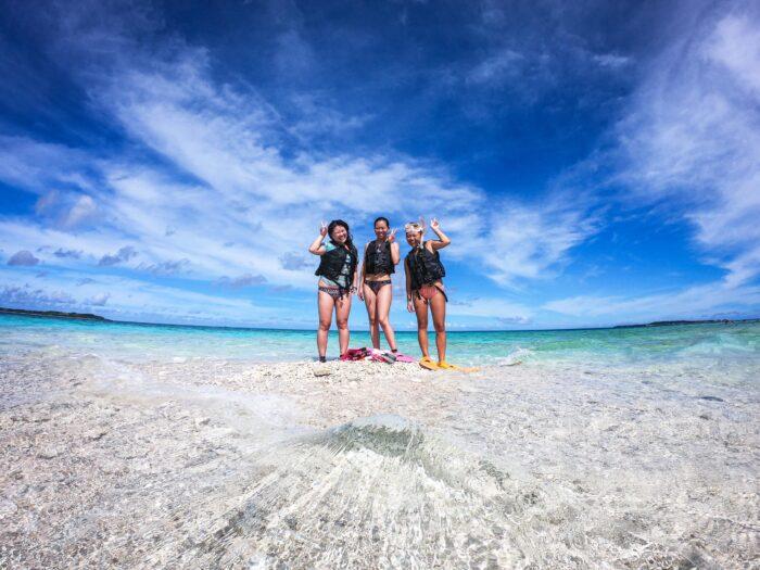 西表島、奇跡の島バラス島シュノーケリング