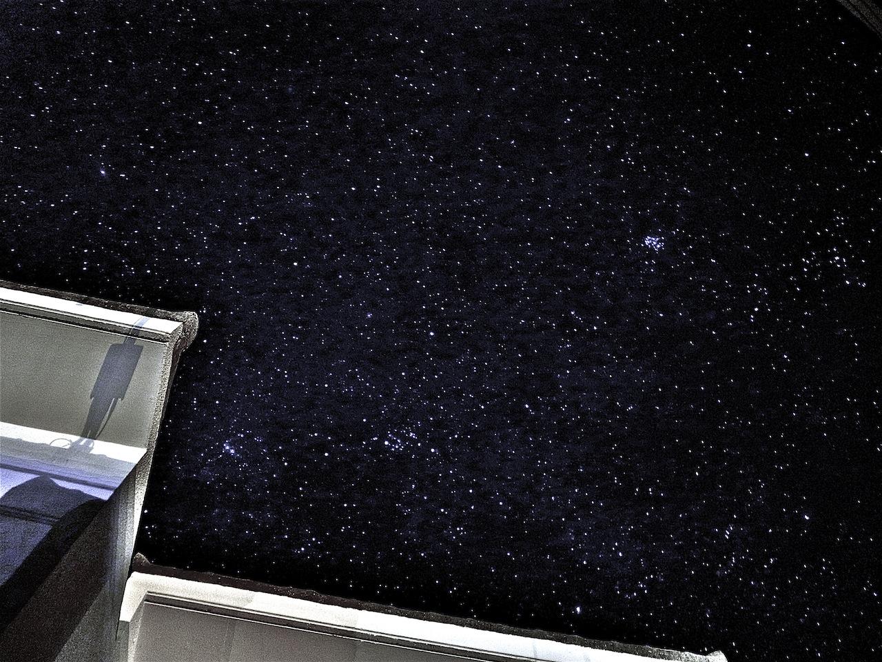 西表島から見える満点の星空