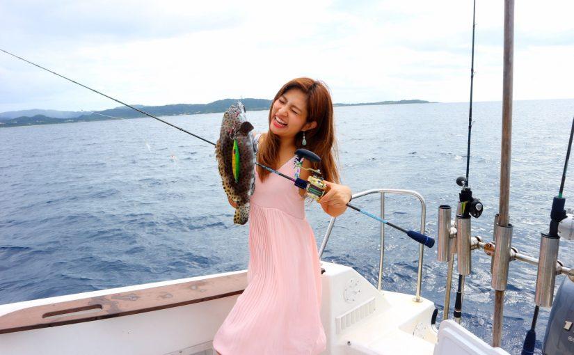 カップルで西表釣りツアー