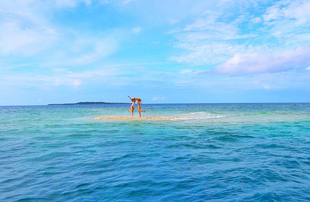西表島奇跡のバラス島での撮影