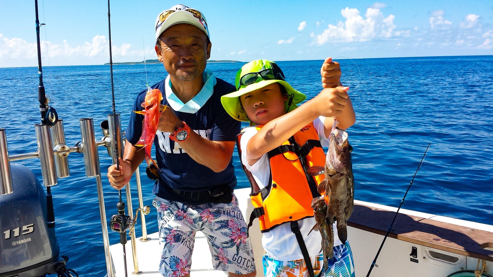 ファミリーで釣りツアーを体験