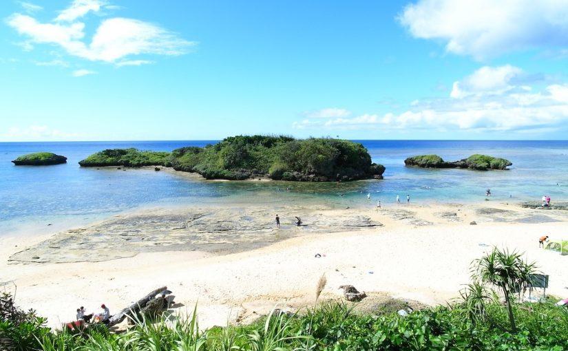 西表島一番人気の星砂海岸