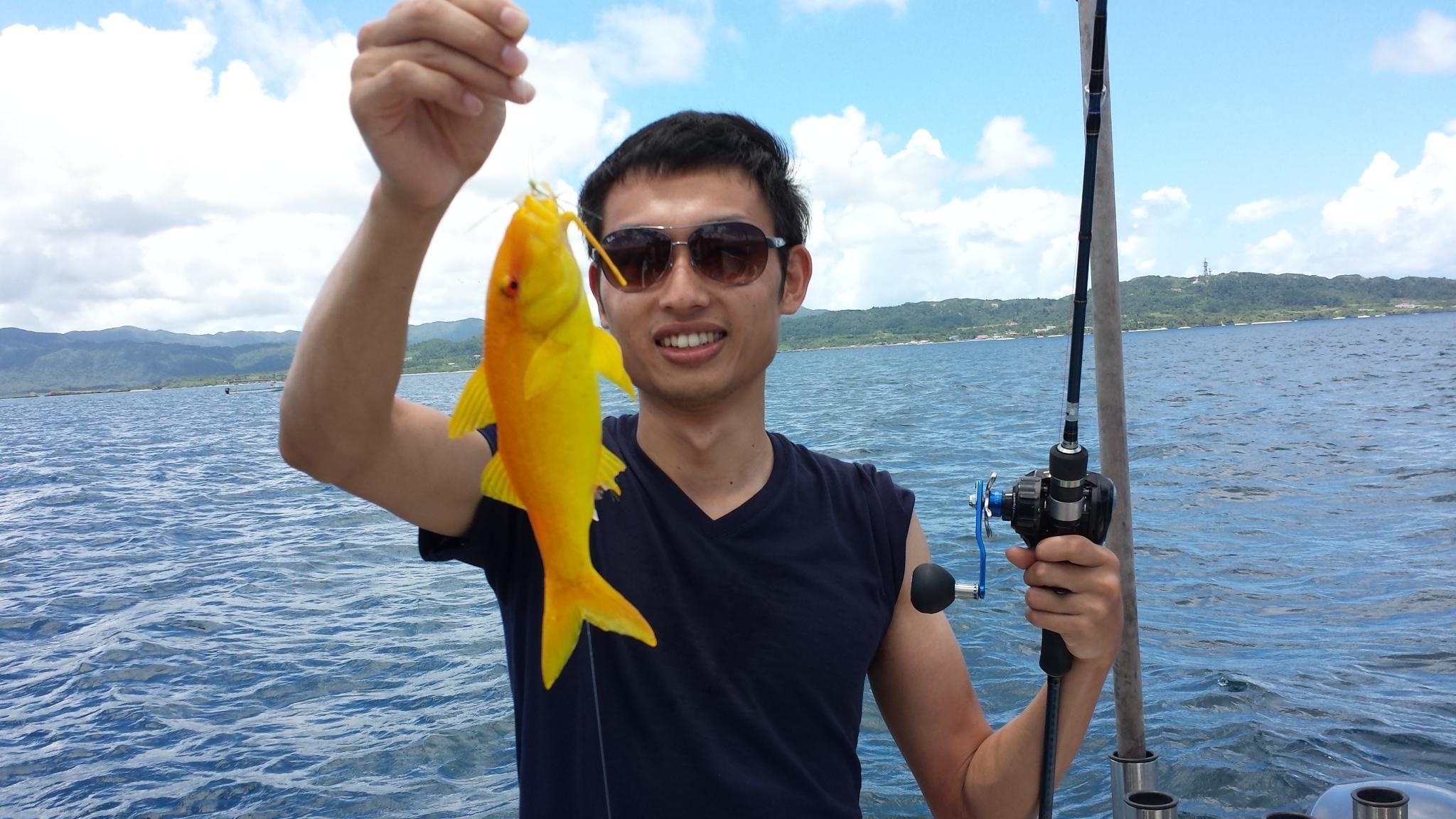 西表島釣りツアー参加者