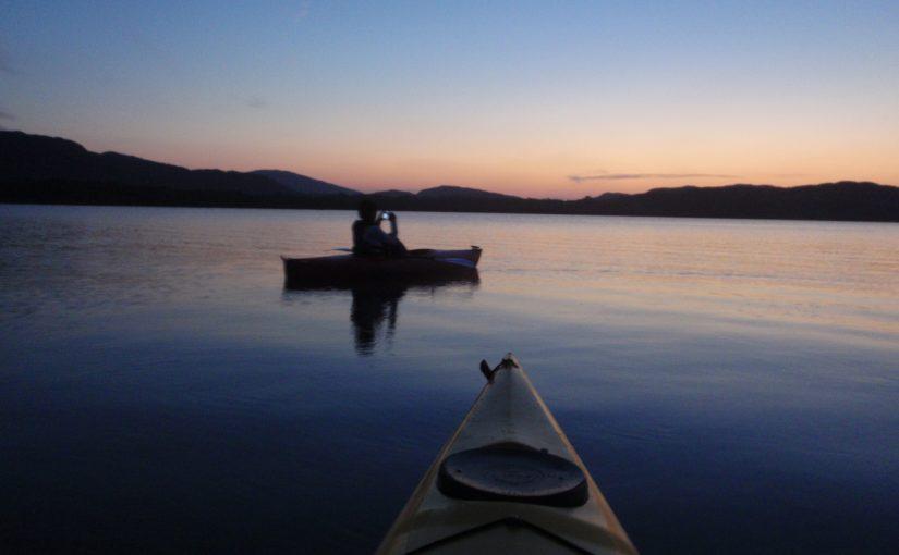 カヌーで西表島の夕暮れを感じる