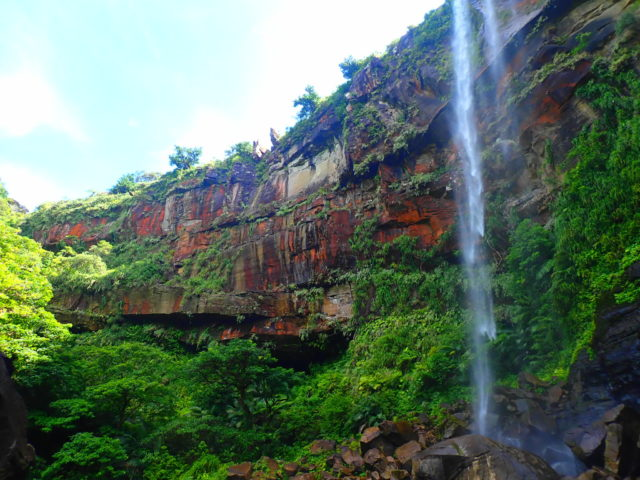 ピナイサーラの滝の滝つぼ