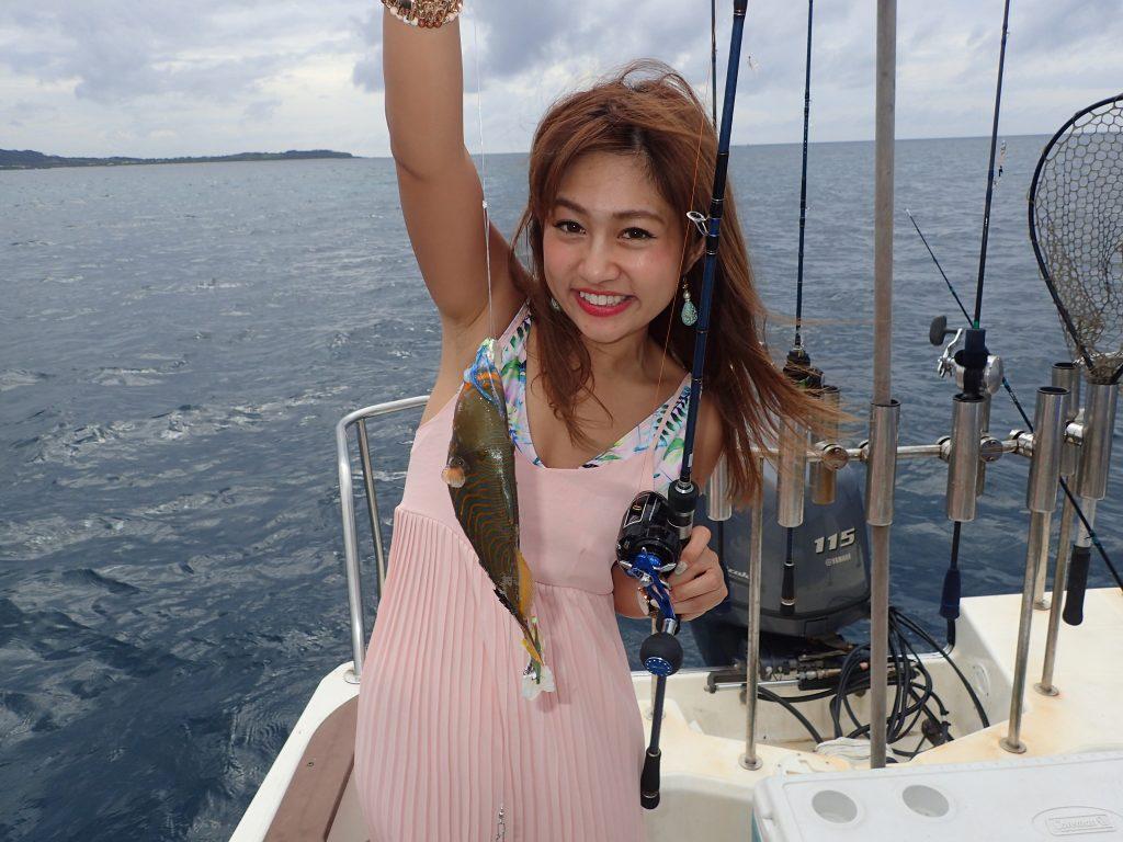 旅行気分で釣りツアー