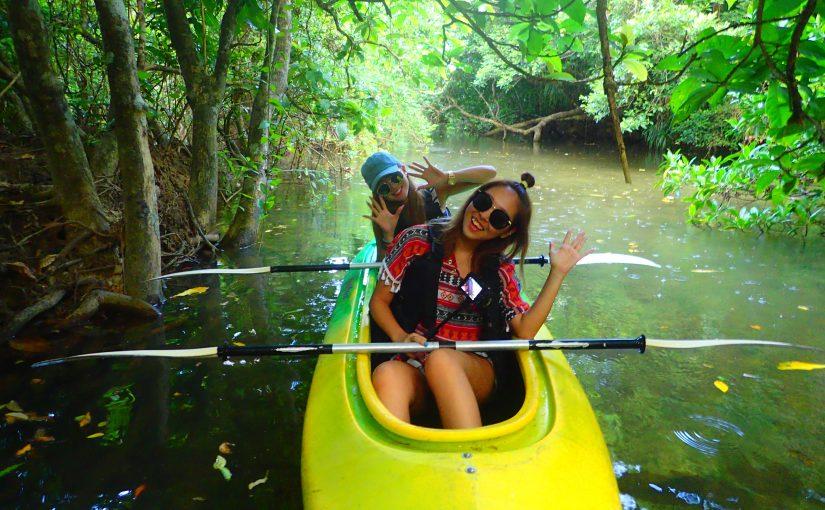 西表島カヌー体験