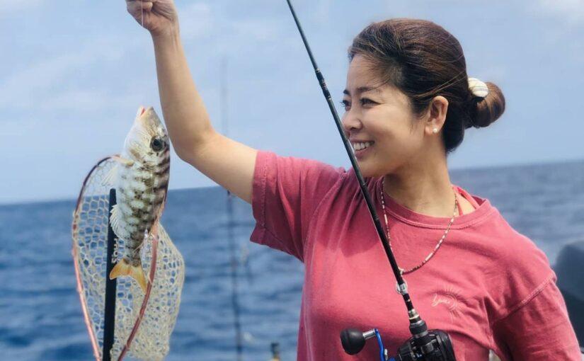 西表島で釣り体験