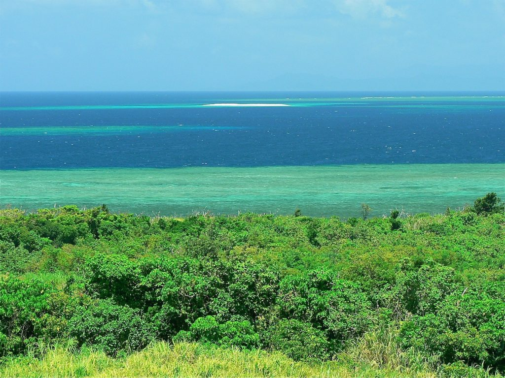 バルコニーから見るバラス島