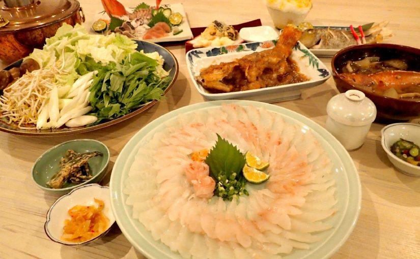 ヴィラ西表の夜ご飯