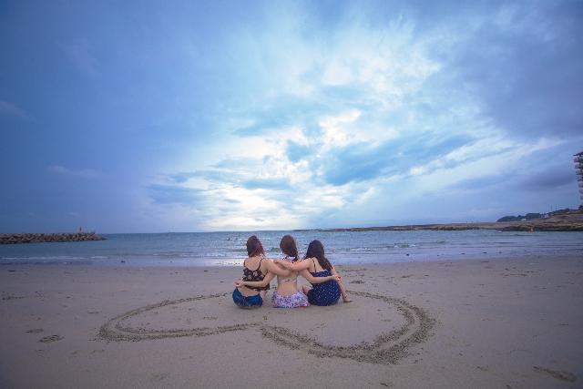 女子旅で西表にくるならこのビーチ