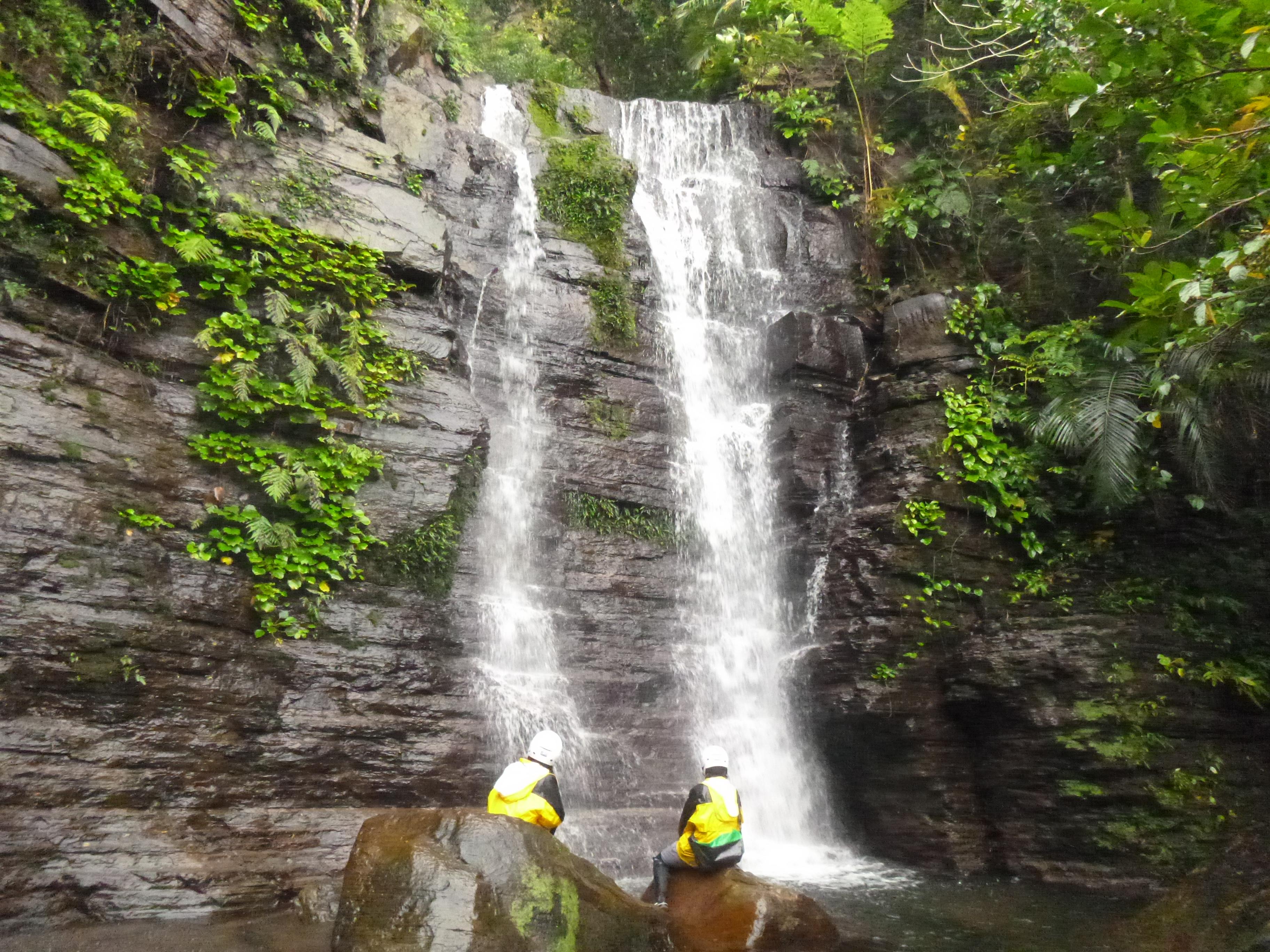西表島SUPベストスポットのゲータの滝