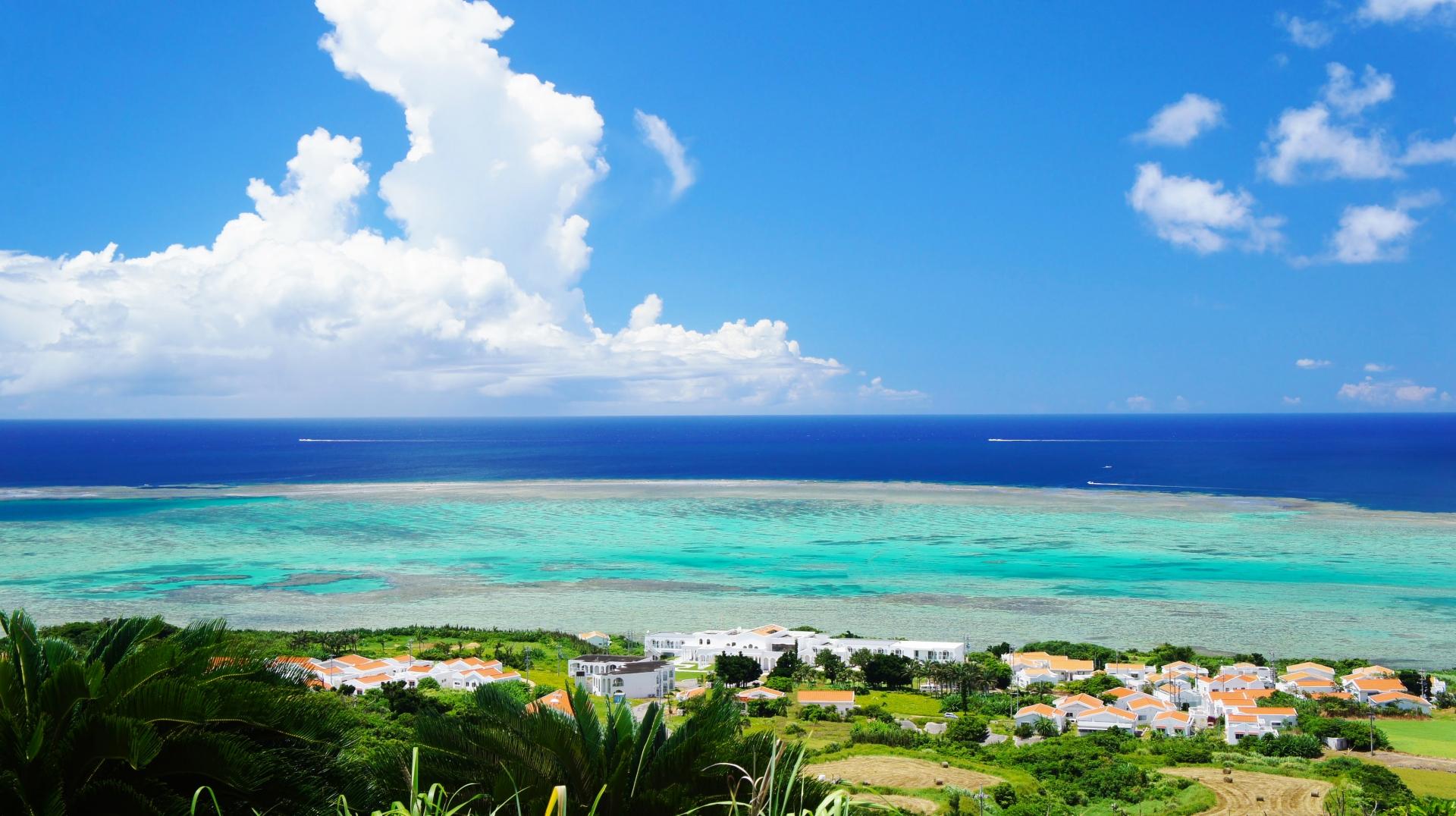 離島として有名な小浜島