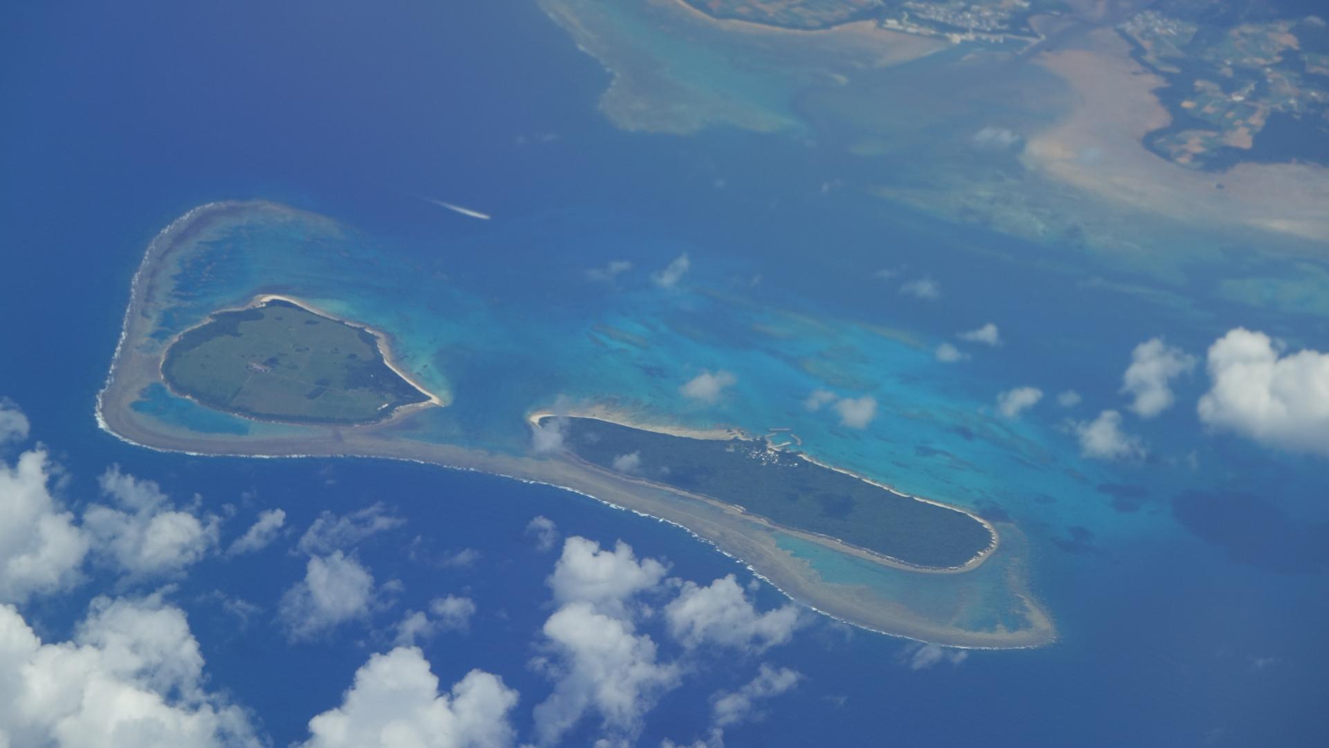 沖縄にある離島の新城島