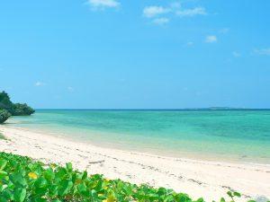 まるまビーチの風景