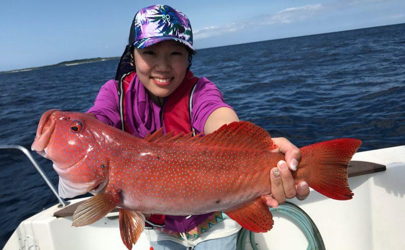 ご家族で西表島で釣りツアー