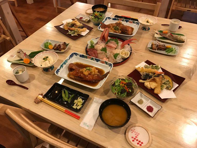 西表贅沢ディナー