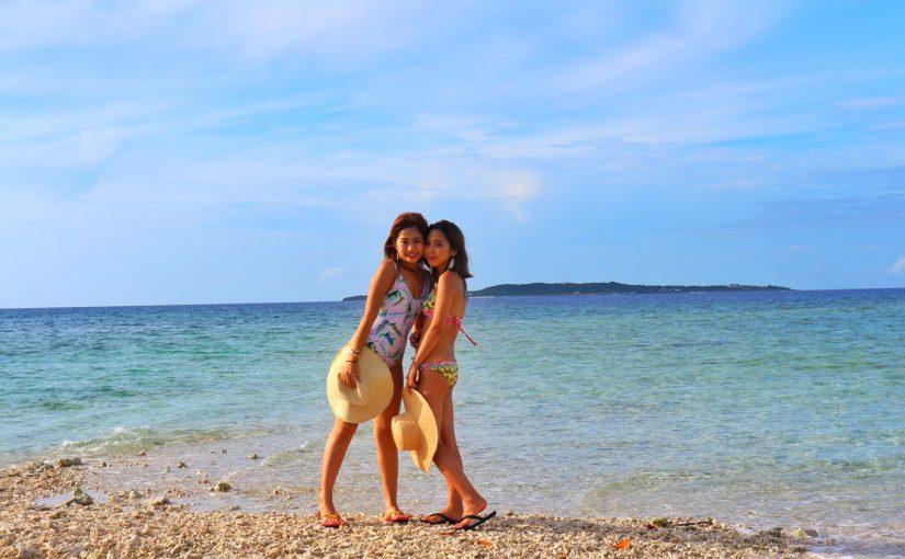 バラス島で記念撮影