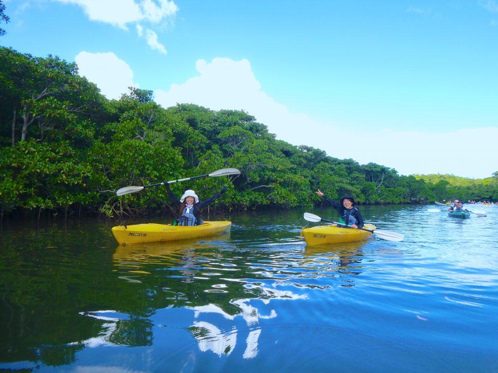団体旅行でおすすめの西表島カヌー