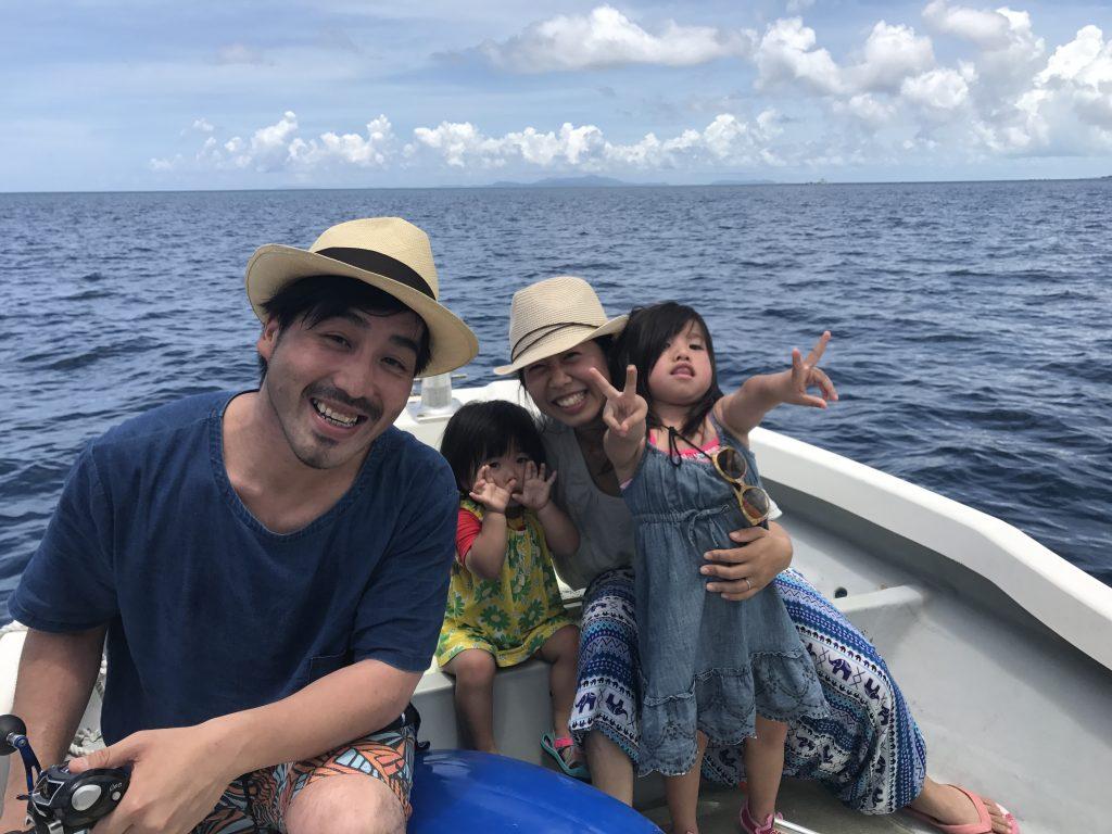 ファミリーで西表島ちょい釣り体験