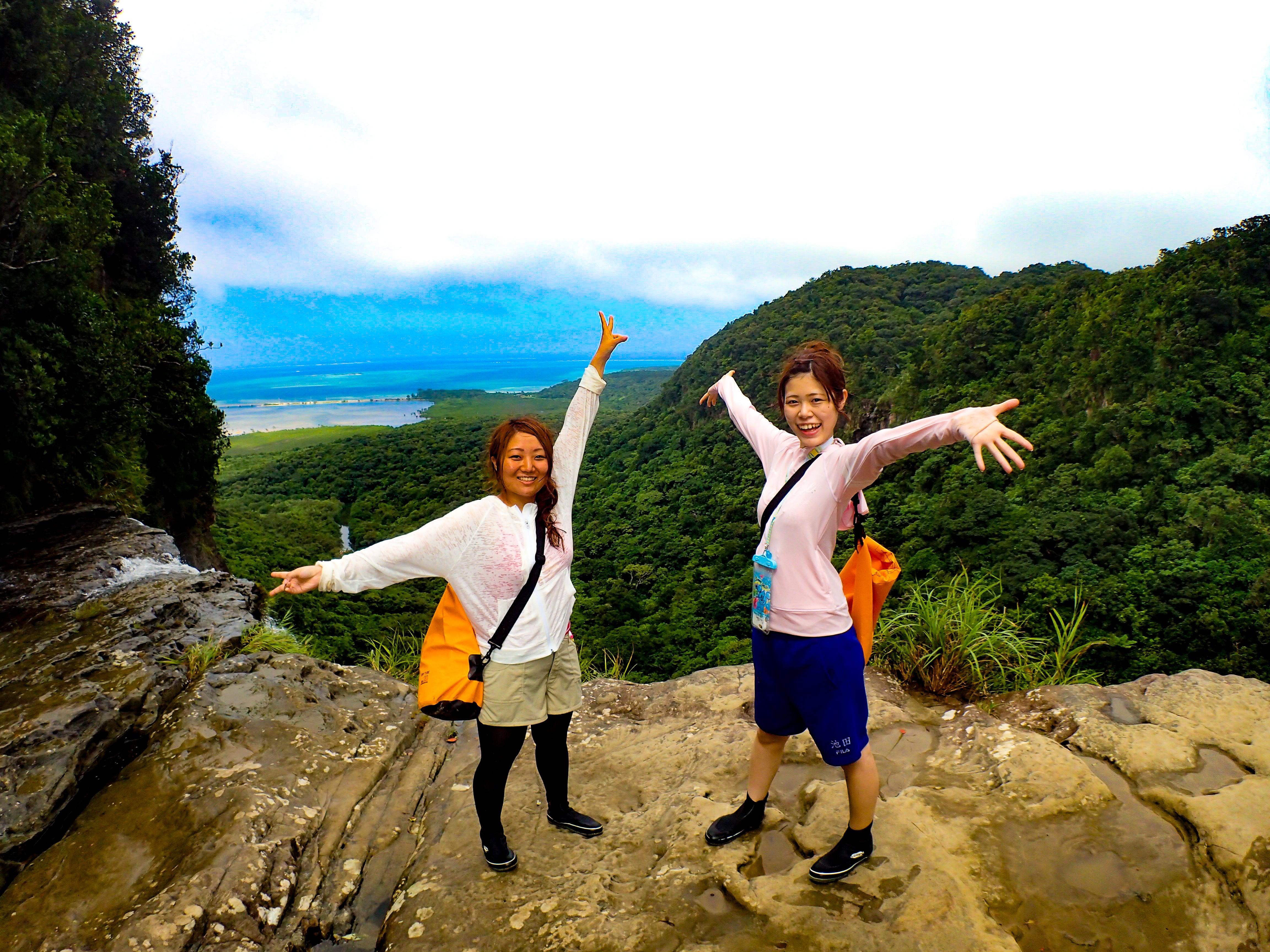 瀧上から見る西表島の絶景