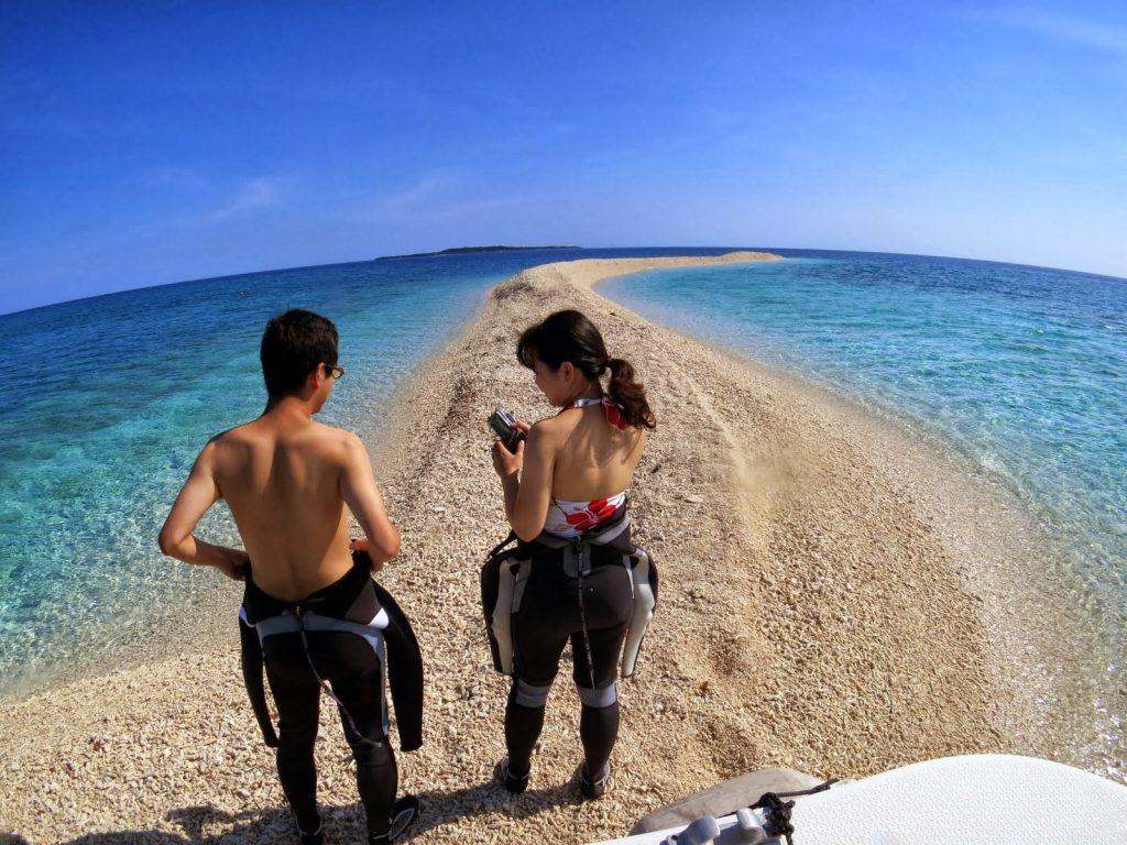 奇跡の島バラス島の散策