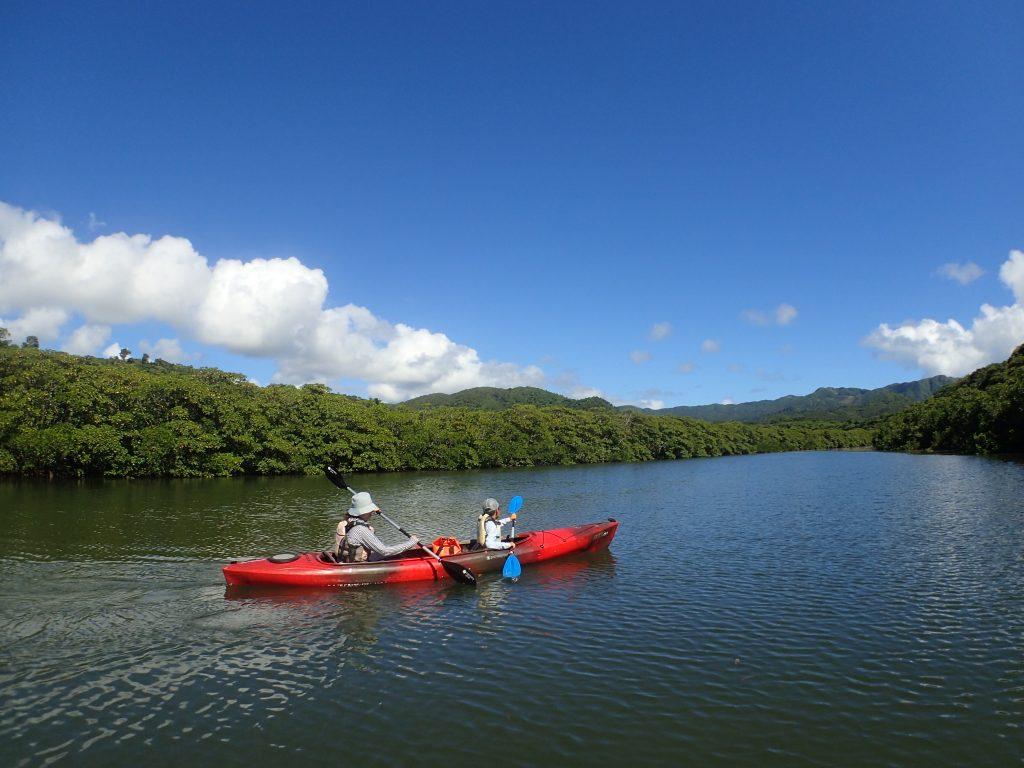 西表島のヒナイ川カヌークルーズ
