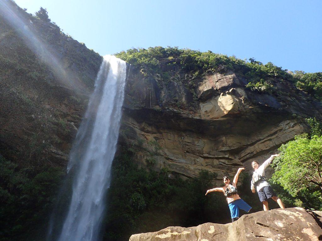 沖縄最大の滝ピナイサーラに到着
