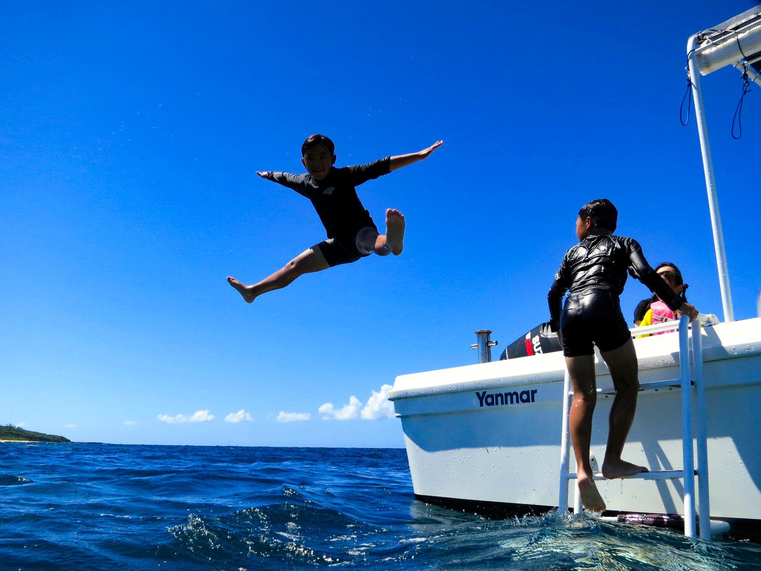 バラス島と鳩間島シュノーケリングツアー