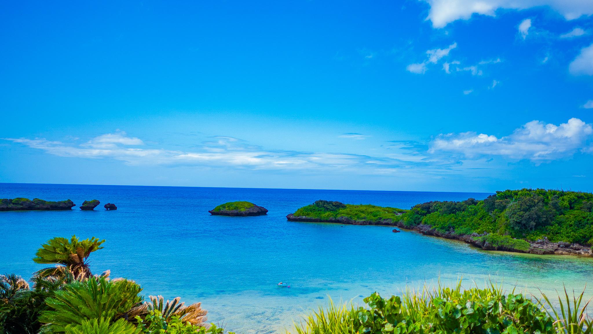西表島8月の星砂ビーチ