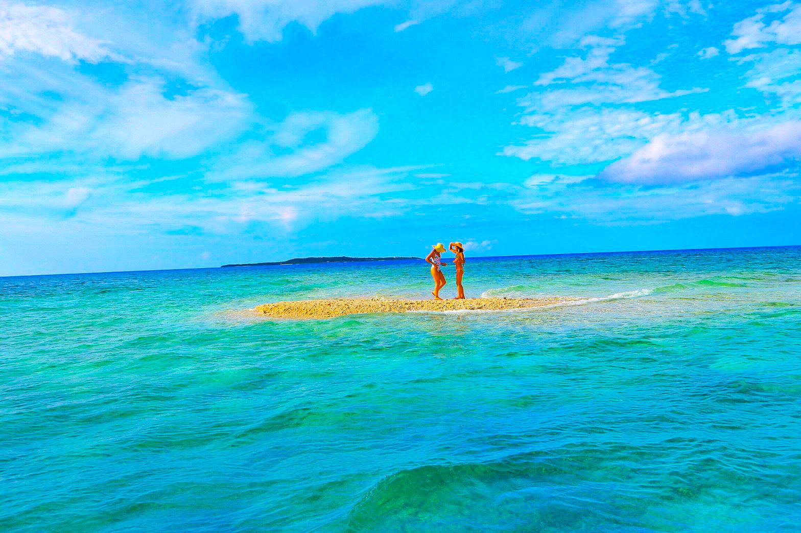 奇跡の島バラス島上陸アクティビティー