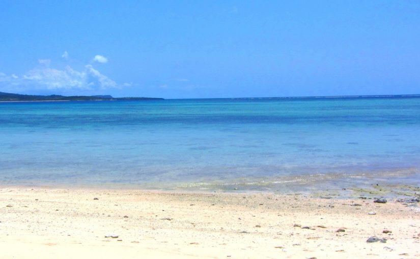 鳩間島の屋良浜