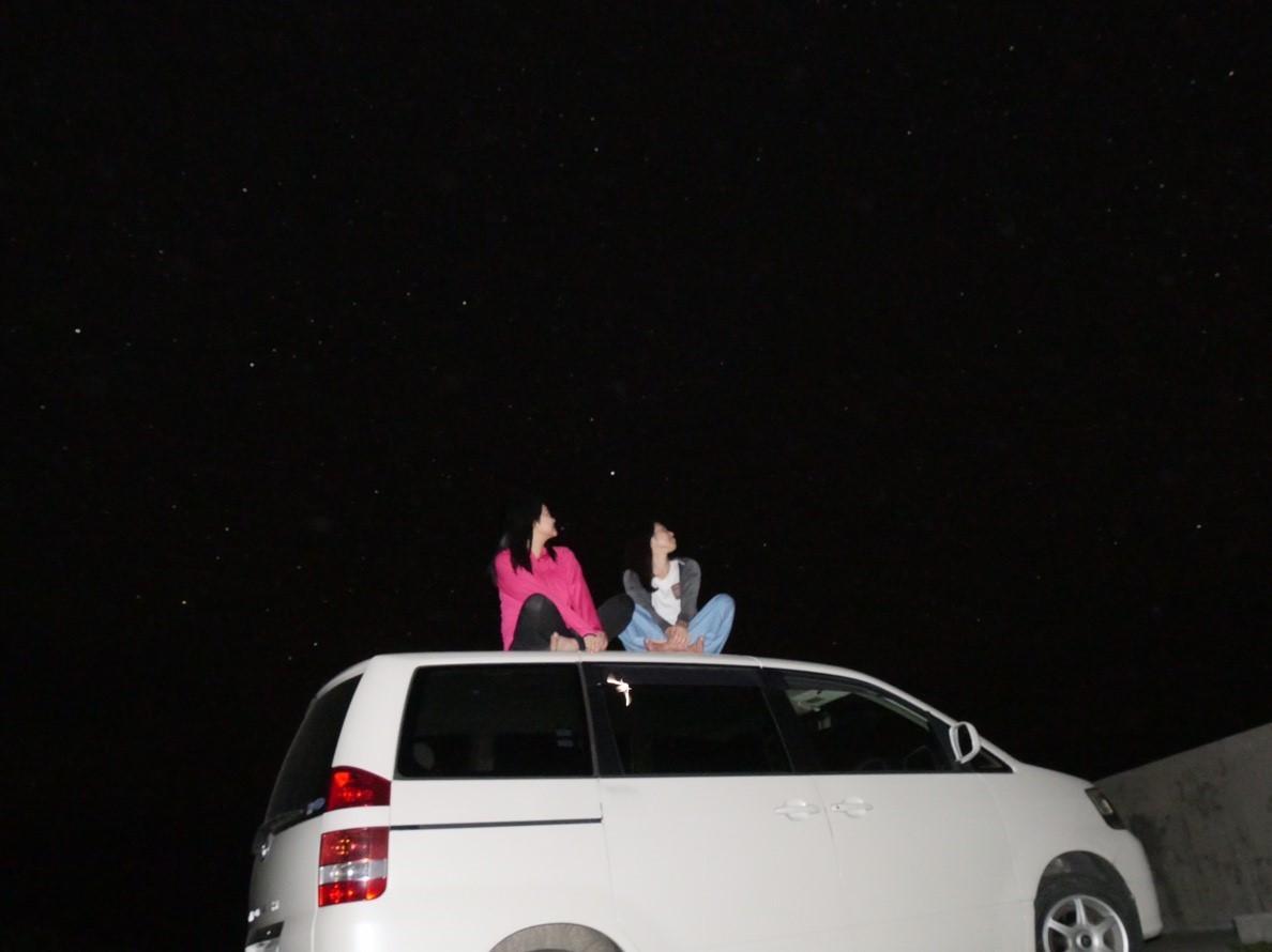 西表島の夜の星空