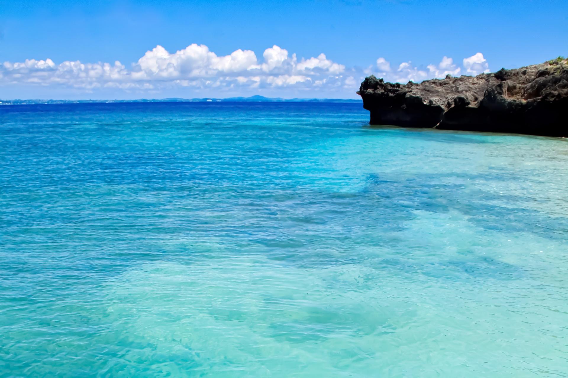美しすぎる西表島の海