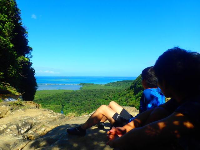 ピナイサーラの滝の頂上